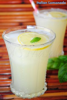 US Masala: Sparkling Italian lemonade and a Win !!