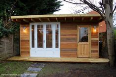 Eco Shed from Bottom of my Garden owned by Angus McGregor | #shedoftheyear @glopartyband