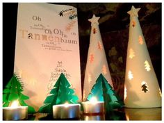 Hicimos las gemelas y yo unos arboles de Navidad de Origami. Quedaron fenomenal y son muy fáciles de hacer. Necesitas papel de Origami o papel fino y cuadrado. Me gustan también mucho para decorar la mesa en Navidades o se pueden colgar en el árbol. Abajo ves las instrucciones. 0043030 You may also be interested …