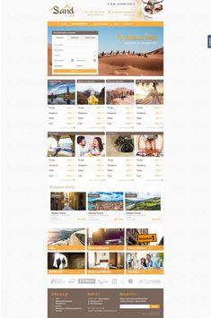 Sand Travel   Menu strona www, website, template, biuro podróży, travel agency Travel Agency, Malta, Website Template, Menu, Menu Board Design, Malt Beer