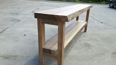 Outdoor Furniture, Outdoor Decor, Dining Bench, Projects To Try, Yard, Home Decor, Bathroom, Ornaments, Rustic Feel