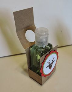 Kards by Kadie: Holiday Hand Sanitizer Holder