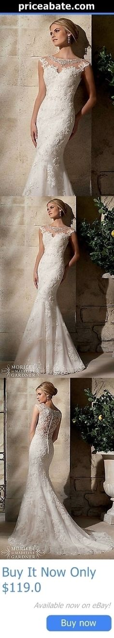 Wedding Dresses: White/Ivory Lace Wedding Dress Bridal Gown Custom Size4 6 8 10 12 14 16 18 20+++ BUY IT NOW ONLY: $119.0 #priceabateWeddingDresses OR #priceabate