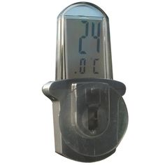 Window thermometer - This digital window thermometer is an ideal instrument for the home, conservatory or greenhouse. The suction pad fixes to the outside of your window or any flat surface and allows reading of the exterior temperature from inside.