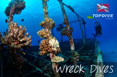 Looking for submerged treasures... #WreckDives http://www.topdive.com/