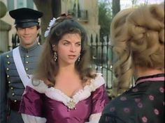Kirstie Alley as Virgilla Hazard North and South Hollywood Movie Theater, Civil War Movies, Kirstie Alley, Image Film, Patrick Swayze, Catherine Zeta Jones, North Hollywood, Civil War Photos, North South