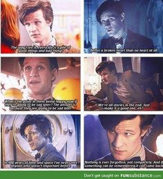 The Doctor's wisdom