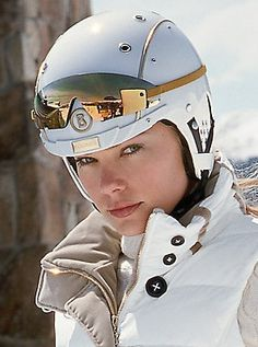 It would be called commitment! Gorsuch - Gold Rush Helmet (Bogner)