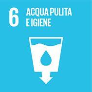 Obiettivo 6: Garantire la disponibilità e la gestione sostenibile di acqua e servizi igienici per tutti