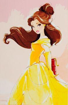 The Art of Belle - Disney Store