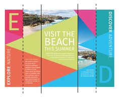 How to Create a Colorful Brochure for Print Using CorelDRAW How To Make Brochure, Create A Brochure, Brochure Design, Brochure Ideas, Catalog Design, Coreldraw, Marketing Tools, Print Design, Layout