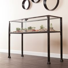 Upton Home Display/ Terrarium Console/ Sofa Table