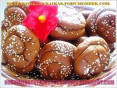 ΜΟΥΣΤΟΚΟΥΛΟΥΡΑ ΜΑΛΑΚΑ!!! Greek Sweets, Greek Desserts, Kid Desserts, Homemade Desserts, Greek Recipes, My Recipes, Cookie Recipes, Dessert Recipes, Cookie Dough Pie