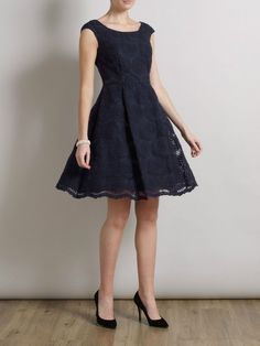 SOMERSET BY ALICE TEMPERLEY DAISY BLUE ORGANZA DRESS NEW RRP £160