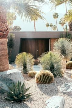Help your home make its best first impression with these glorious design ideas Minimalist Landscape, Minimalist Garden, Modern Landscape Design, Modern Backyard Design, Desert Landscape, Backyard Walkway, Small Backyard Landscaping, Modern Landscaping, Landscaping Ideas