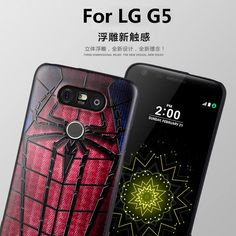 6.56$  Buy here - For LG G5 case Cute 3D Relief Painting Soft Silicone Back Cover Case for LG G5 H830 Mobile Phone Superman Batman Spiderman Funda   #magazine
