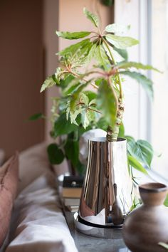 my scandinavian home: At Home With The Terra Collection From Georg Jensen Outdoor Plants, Outdoor Gardens, Plant Games, Terracotta Plant Pots, Scandinavian Home, Balcony Garden, Window Sill, Garden Styles, Houseplants
