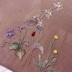 "Lovely heart things: Embroidery: ""Herb embroidery"" (+ scheme)"