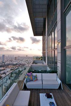 City balcony.