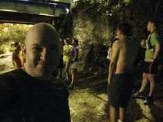 Thur Mar 2 in #Miami: The #HashRun was hash-tastic! I thought I was going on just a normal group run. And I had a cold so I was worried about keeping up. But it was an unreal experience. Leaders had laid out a path through #CoralGables with flour on the road. Some paths were tricks to keep the faster runners occupied. There were beer stops where people stopped to drink beer (I don't drink much even when healthy and not running so I declined). There were Boob Checks where the girls flashed…
