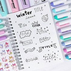 11 Simple Planner Doodles for Your Bullet Journal with step by step process Bullet Journal Inspo, Bullet Journal Planner, Bullet Journal Ideas Pages, Creating A Bullet Journal, Journal Fonts, Journal Layout, My Journal, Lettering Tutorial, Tittle Ideas