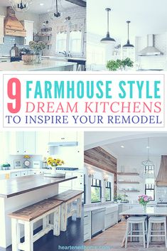 Home Interior Living Room Get inspired for your kitchen remodel with these nine beautiful Farmhouse kitchen designs.Home Interior Living Room Get inspired for your kitchen remodel with these nine beautiful Farmhouse kitchen designs.