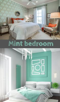 Wall Color Combination for Bedroom. Wall Color Combination for Bedroom. 24 Best Bedroom Colors 2020 Relaxing Paint Color Ideas for Mint Bedroom Walls, Small Bedroom Paint Colors, Bedroom Paint Design, Accent Wall Bedroom, Bedroom Color Schemes, Small Room Bedroom, Small Bedrooms, Bedroom Wall Colour Ideas, Bedroom Ideas