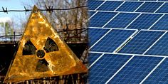 This is so cool: Giant Solar Farm to Rise From Chernobyl's Nuclear Ashes