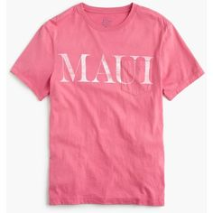 J.Crew Maui graphic T-shirt ($45) ❤ liked on Polyvore featuring men's fashion, men's clothing, men's shirts, men's t-shirts, mens cotton shirts, j crew mens shirts, mens t shirts, mens cotton t shirts and j crew mens t shirts