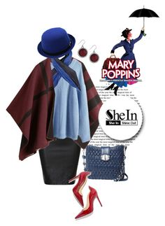 """""""Mary Poppins"""" by ul-inn ❤ liked on Polyvore featuring Lucky Brand, Miu Miu, Burberry, Issey Miyake, women's clothing, women's fashion, women, female, woman and misses"""