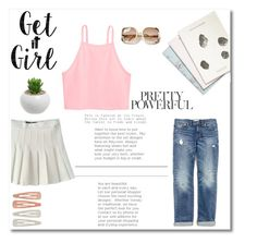 """Get it Girl"" by fleur-353 on Polyvore featuring Forever 21, Maison Scotch and Madewell"
