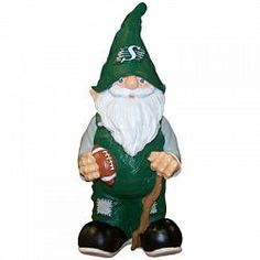 THE RIDERS | Saskatchewan Roughriders Gnome | manufactured by Forever Collectibles