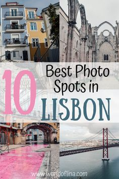 You are looking for the best photo spots in Lisbon, Portugal? Here are the best places to get the perfect pictures from one of Europe's most photogenic cities! Visit Portugal, Spain And Portugal, Lisbon Portugal, Portugal Travel Guide, Europe Travel Guide, Travel Destinations, Travel Guides, Berlin, The Beautiful Country