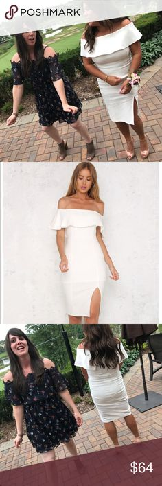 fits nice. I wore a size 8 I'm 5'2 140 Fits great, all white, snugs the body! I loved it. Wore the other size to my shower. holly molly Dresses Strapless