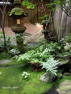 Peacefully Japanese Zen Garden Gallery Inspirations 29 on Home Inteior Ideas 1877 Japan Garden, Garden Pool, Shade Garden, Small Japanese Garden, Japanese Garden Design, Japanese Modern, Japanese Gardens, Zen Garden Design, Landscape Design