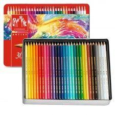 Lápis Caran D'Ache Supracolor Soft - 30 Cores