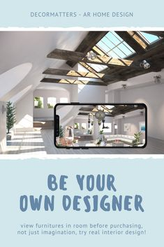 Not just imagination, DecorMatters AR Home Design free app makes everyone an interior designer! Design and decor your own room, become your own designer without any cost, and view items placement before buying.