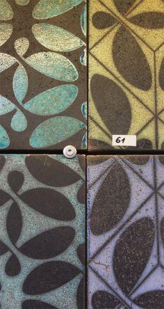 glazing tests in our workshop. Henri Matisse, Tile Design, Tiles, Workshop, Interior, Crafts, Tile, Room Tiles, Atelier