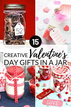 Valentines Gifts In A Jar that are fun and easy to make for your friends, family, and boyfriend. These simple gift ideas include hot chocol. Romantic Gifts For Him, Unique Gifts For Him, Diy Gifts For Him, Simple Gifts, Easy Gifts, Creative Gifts, Valentines Day Songs, Valentines Gifts For Boyfriend, Boyfriend Anniversary Gifts