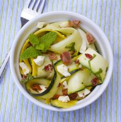 Squash Salad with Crispy Prosciutto