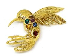 Vintage NAPIER Bird Pin