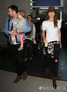 Caleb Followill and Lily Aldridge were spotted at LAX