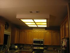 Update old lighting in the kitchen to capture the most money from my kitchen update 6 months later workwithnaturefo