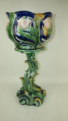 Jardinaire and Stand Art Nouveau c1900