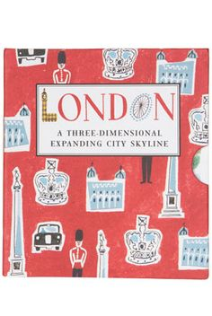 London: Panorama Pops: A Three-Dimensional Expanding City Skyline (Pan Baker And Taylor, B 13, Up Book, Tower Of London, London Calling, Uk Fashion, Three Dimensional, Childrens Books, London