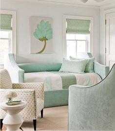 Verde menta na decoração: