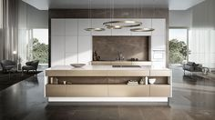 Functional design and style with great storage capacity, those are the characteristics of Cocinart's modern-style kitchens. We will design your perfect kitchen in Palma de Mallorca. Modern Kitchen Design, Interior Design Kitchen, Luxury Kitchens, Home Kitchens, Small Kitchens, Küchen Design, House Design, Milan Design, Woodworking Plans
