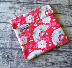 Your place to buy and sell all things handmade Cloth Pads, Wet Bag, Wet And Dry, Make Your Own, Daisy, Bird, Fabric, Pattern, Handmade