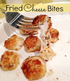 Fried Cheese Bites Recipe (Only 3 Ingredients!) #foodie #recipe
