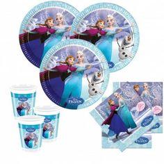 Disney Frozen Eiskönigin Motiv: Ice SkatingParty Basis Set für bis zu 8 Kinder beinhaltet die folgenden 36 Teile:8 x Eiskönigin Ice Skating Papp Teller 23 cm Durchmesser8 x Eiskönigin Ice Skating Plastik Becher 200 ml20 x Eiskönigin Ice Skating Servietten 33 x 33 cm (4/4 Falz gefaltet 16,5 x 16,5 cm)